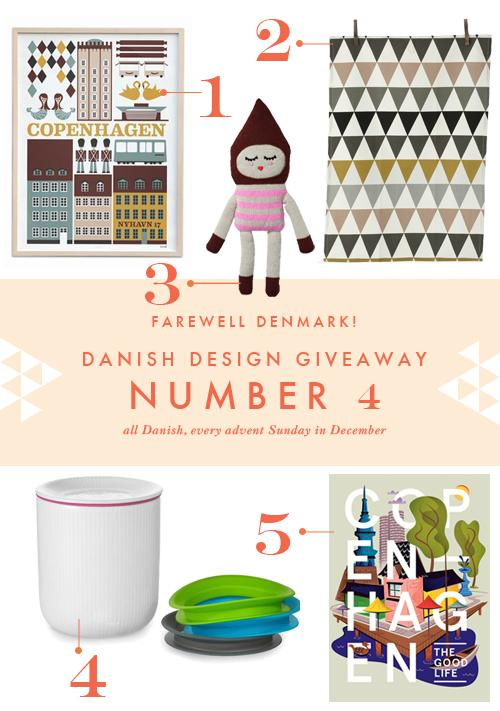 Danish Design giveaway #4 (last one!)