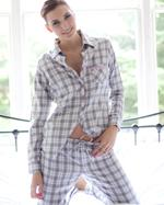 Esprit Melange Check Ladies Pyjamas