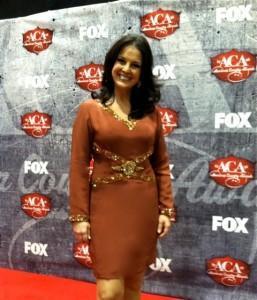 Nan Kelley at ACA on red carpet 1
