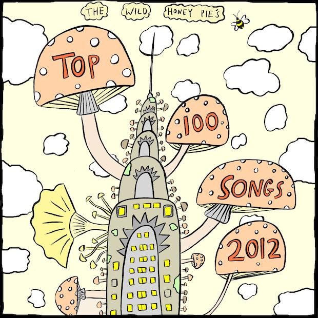 Chrystler TOP 100 SONGS OF 2012