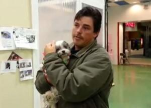 Indiana man reunited with lost dog after five years