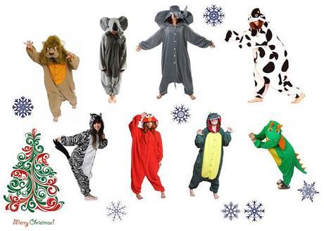 Sleeping in style   Christmas PJs