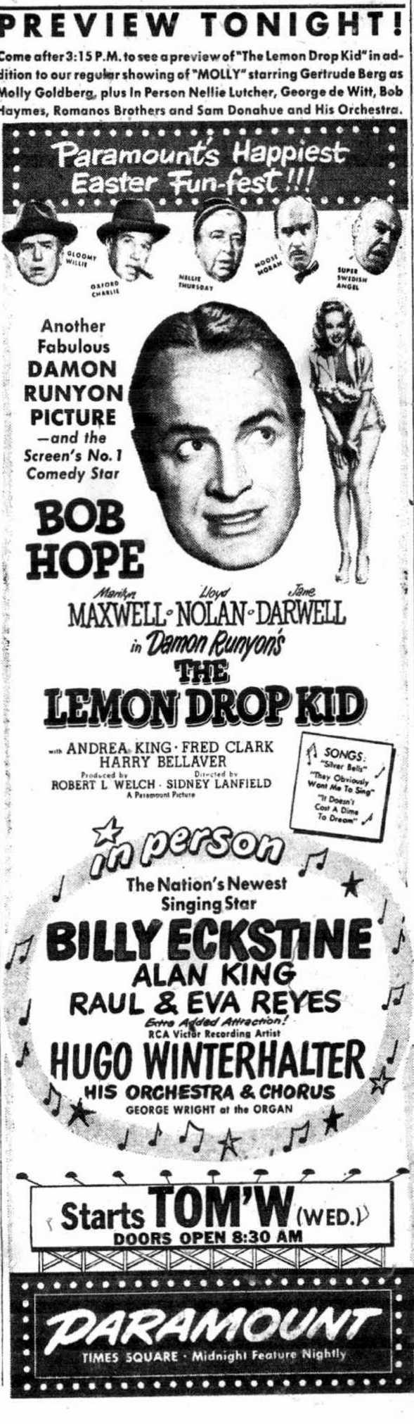 XmasThe Lemon Drop Kid