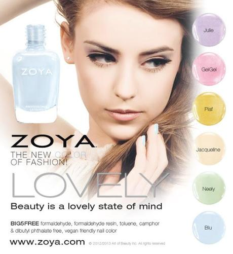 Zoya Spring 2013 Collection: Zoya Lovely