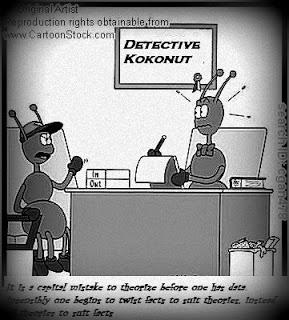 Detective Kokonut and Inspector Jaan (Part two)
