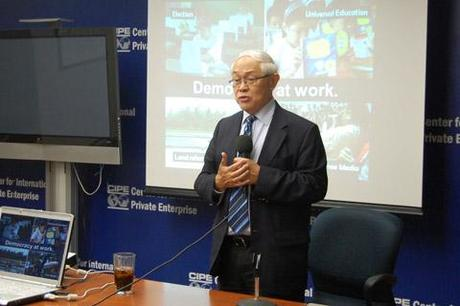 Former Finance Minister on Philippines Transition to Democracy