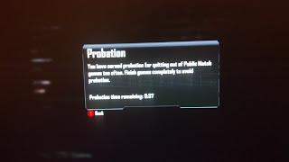 Call of Duty Black Ops 2 Probation