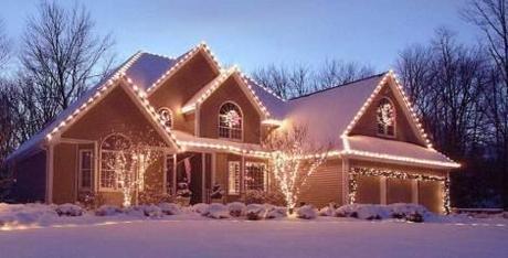 Christmas lights house nepa