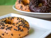 Baked Donuts Pumpkin Spice Glaze Dark Chocolate