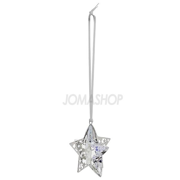 Swarovski Christmas Ornament Crystal Moonlight Star 1140007