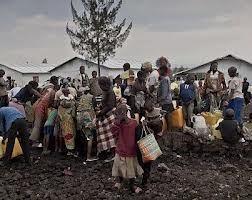 Displaced people in North Kivu