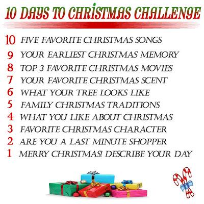 10 Days to Christmas Challenge- Day 7