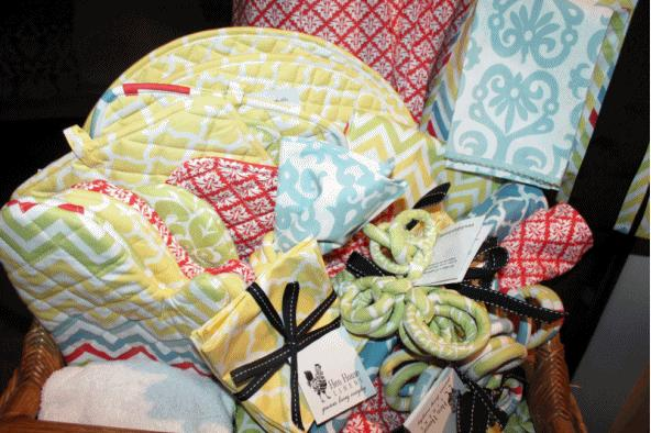 Various Offerings from Hen House Linens