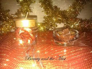DIY:How to decorate Christmas candles and small boxes