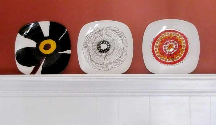 DIY marimekko plates craft 7 DIY Gifts Your Kids Can Make (that people will be happy to receive!)