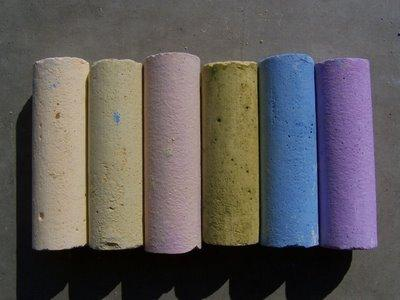 DIY Sidewalk chalk 7 DIY Gifts Your Kids Can Make (that people will be happy to receive!)