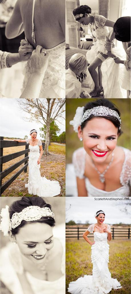LizAnne & Reed are married! /// Alma, GA Wedding Photographer