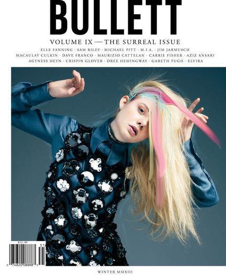 Elle Fanning is the Cover Girl of Bullett's Winter 2013 Issue