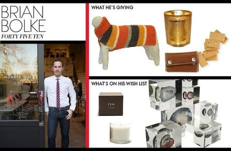 Fashion Friday--Gift Giving For the Stylish
