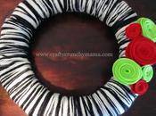Gift Idea Yarn Wreath