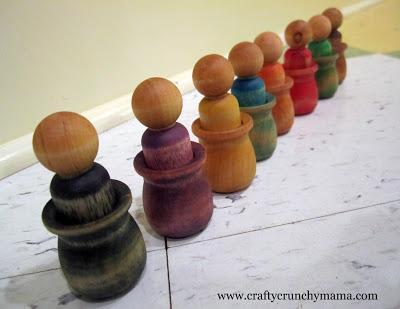 Toddler Gift Idea - Hand Painted Wooden Toys