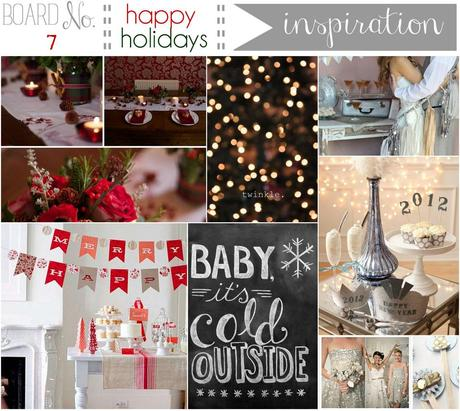 {inspiration board} No. 7 Merry Christmas & Happy New Year