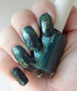 Color Me Monthly Emerald City and Color Club Snow Flakes