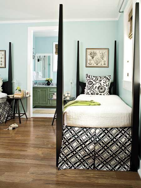 color roundup using sky blue in interior design paperblog