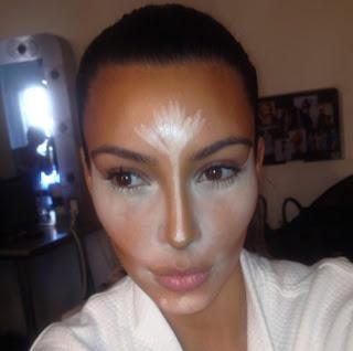 Makeup Brand on Contour And Highlight Like Kim Kardashian And An Evening Make Up Look
