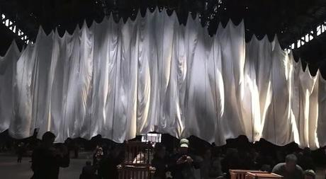 Ethereal Media Art Installation; the event of a thread
