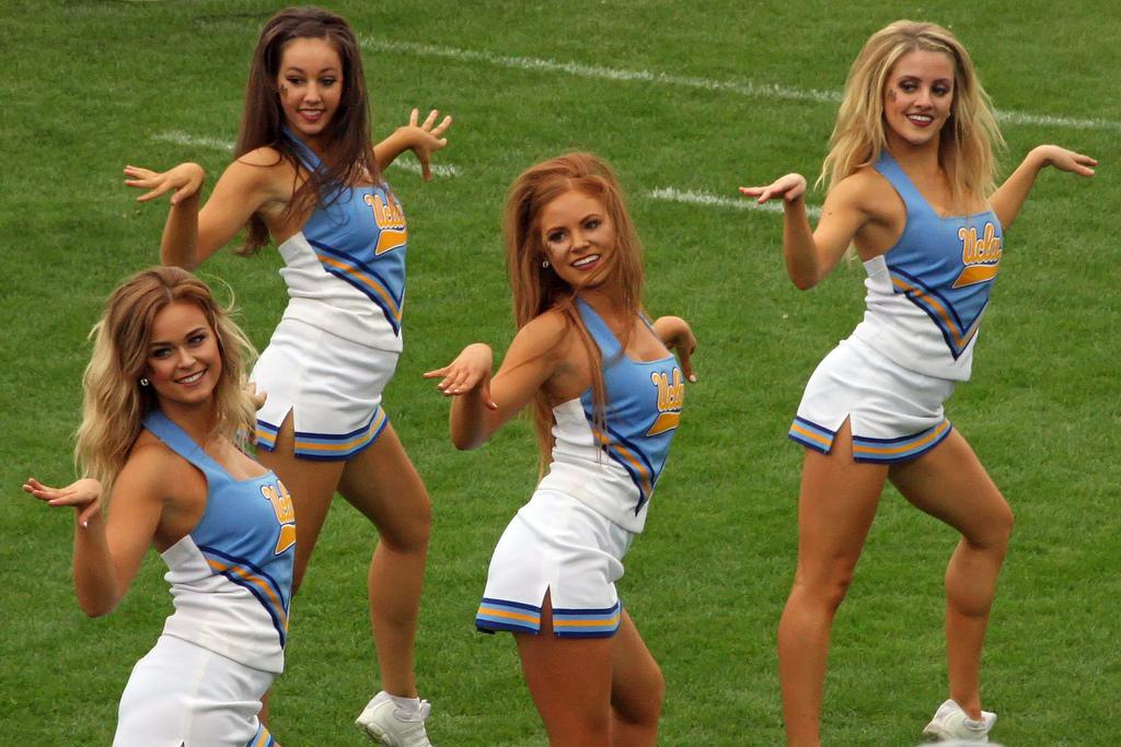 UCLA College Cheerleaders