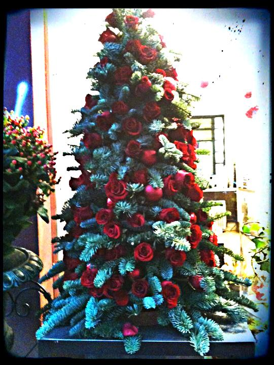 Rose.Christmas.Tree