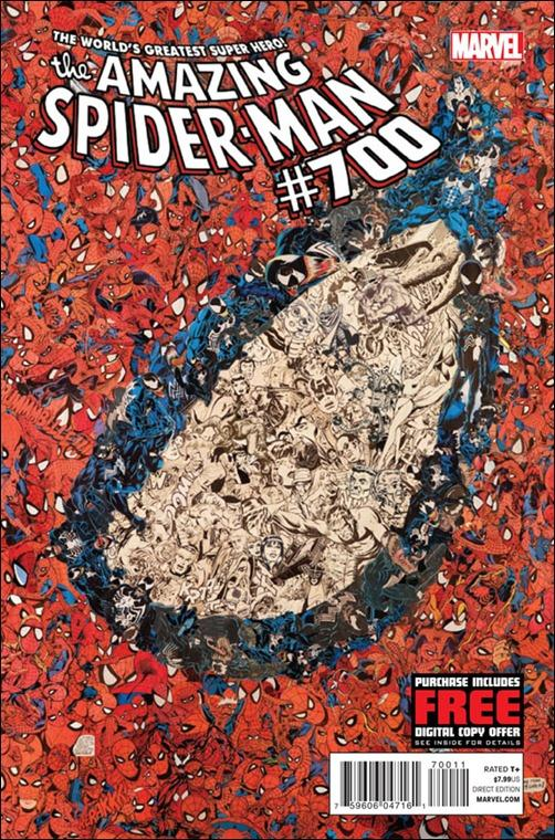 Amazing Spider-Man #700 Cover