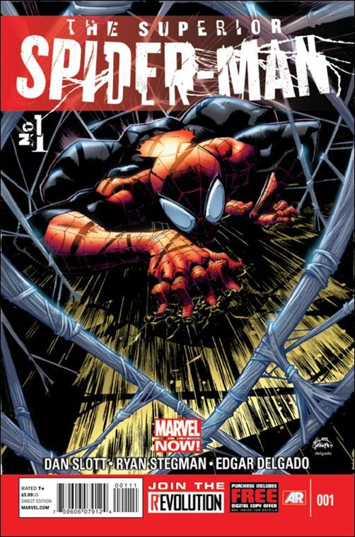 SUPERIOR SPIDER-MAN #1 Cover