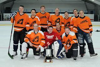 AMHL Tuesday Championship: A Cast of Christmas Characters