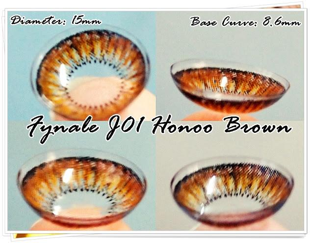 Fynale Honoo Brown Circle Lens Review