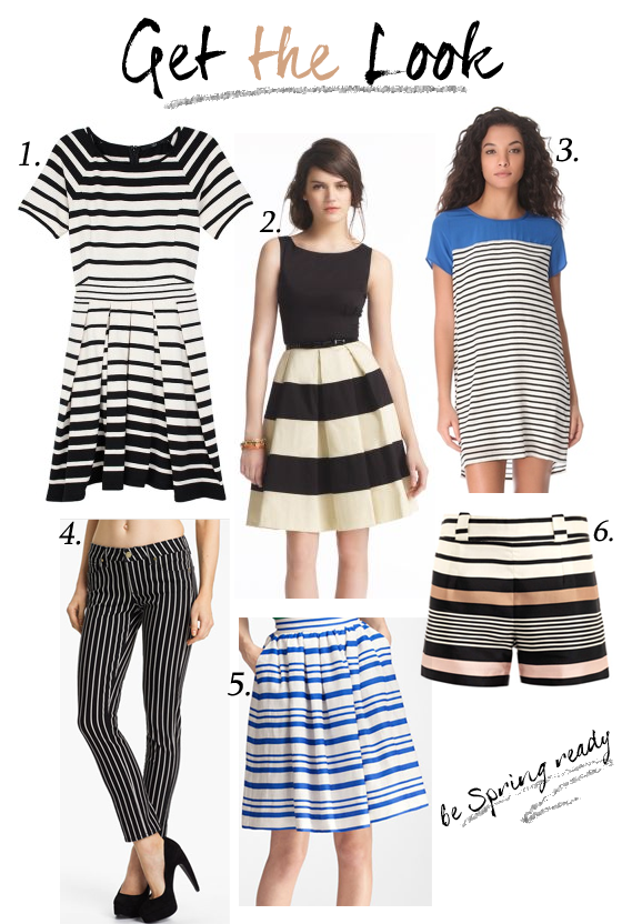 [Guest Post] L.A. in the Bay 2013 Trend: Stripes!