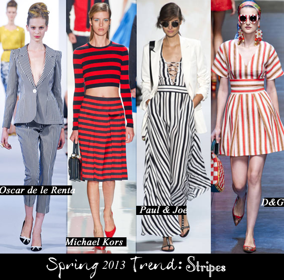 la in the bay: 2013 trend stripes