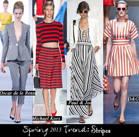 la in the bay: 2013 trend stripes