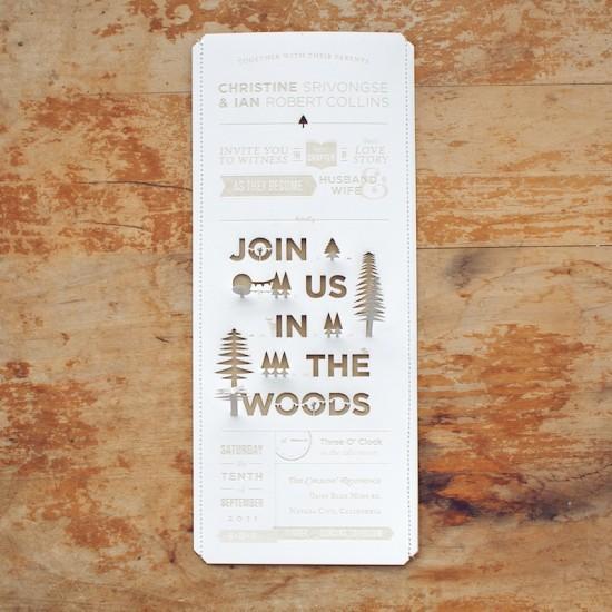3 Gorgeous Unique Wedding Invitation Ideas Paperblog – Unique Wedding Invitation Ideas