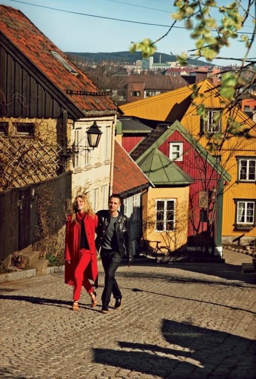 NORWAY_Iselin Steiro and Anders Danielsen by Boo George for T Style Travel Magazine Summer 12