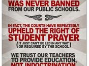 Prayer Schools Never Banned