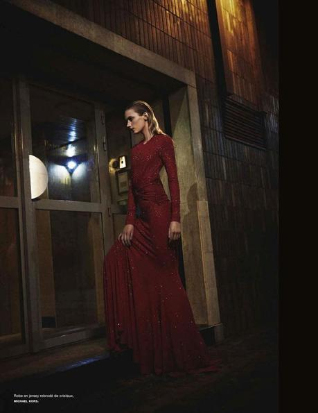 'Nuit Blanche' and appears in the 139 issue of Numéro. Yelena Yemchuk photographed model Sigrid Agren