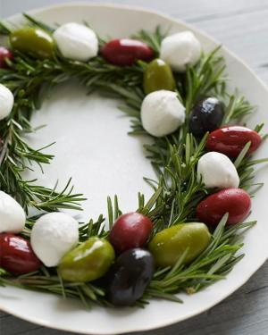 Antipasto Wreath by SweetPaulMag