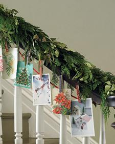 Card Garland from MarthaStewart