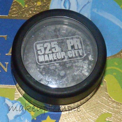 525PR Makeupcity Mineral Eye Dust Carbon