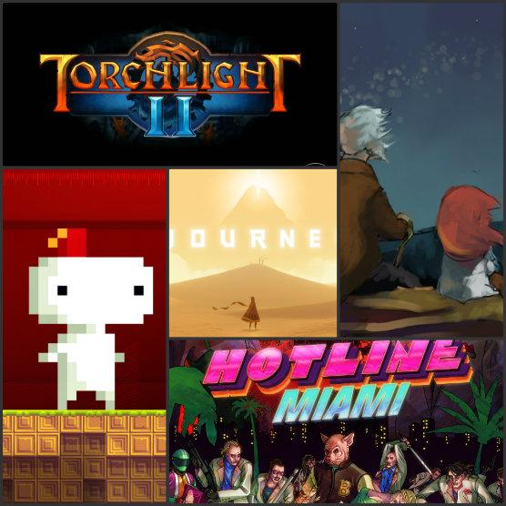 S&S; Perspective: Top 5 Indie Games of 2012