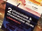 REVIEW! Sainsbury's Chocolate Honeycomb Cheesecake Slices