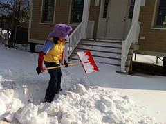 Shoveling Snow While Pregnant: Tips and Advice