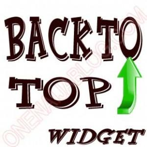 back to top widget for blogger and wordpress